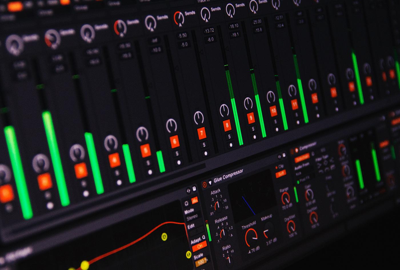 ストリングスのMixテクニック①:音量バランス