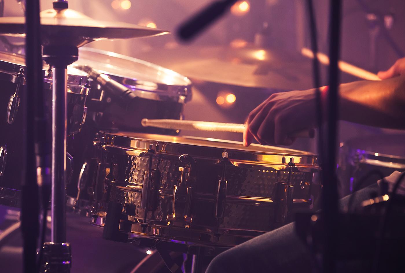 ドラムセットを構成する楽器