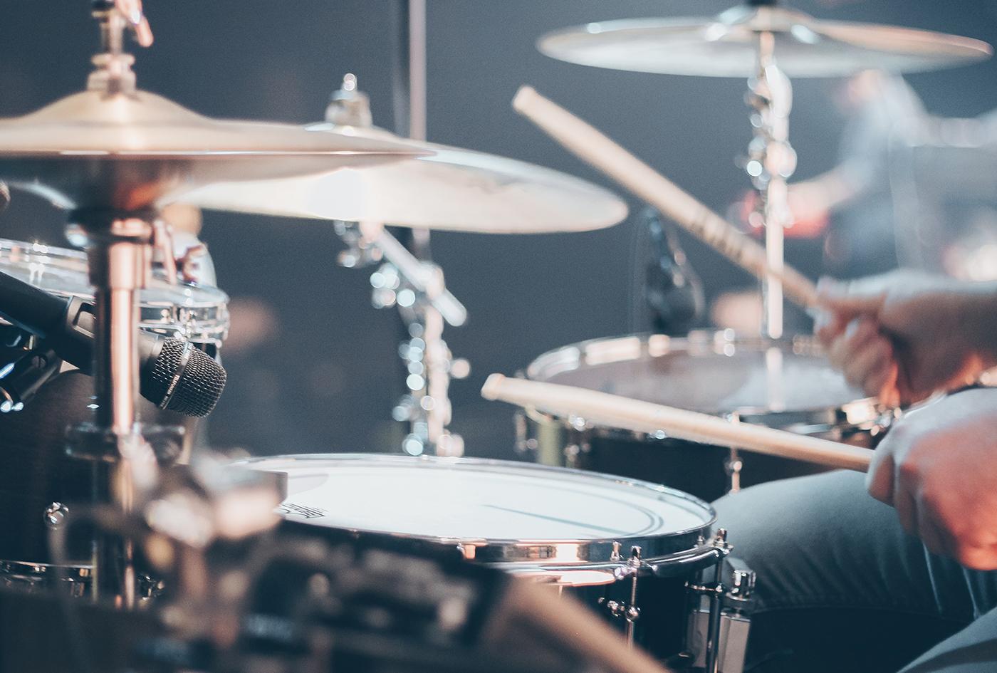 ドラムキット&プリセットによる印象の違い